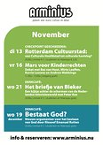 Arminius programmering in november!