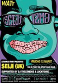12 maart STRANGE FRUIT presents SEIJI in WATT cafe (van Uk Funky via Brazil to Hiphop). (NIEUWE LOCATIE)