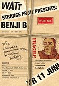 Strange FRUIT presents BENJI B