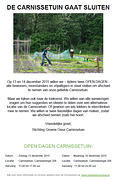 OPEN DAGEN CARNISSTUIN