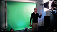 Video Werkt met green screen